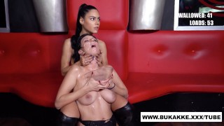 Beautiful Sherry Vine and Friend Get Heavy Facial – bukkakexxx