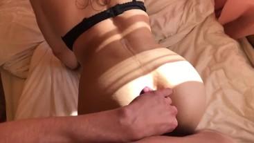 caught by roommate sniffing pantyhose ( z polskim głosem )