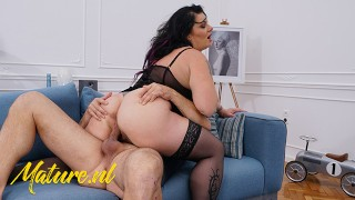 BBW Milf With Huge Ass Fucks Business Mans Big Dick
