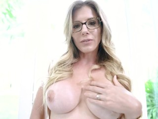Step Mom Caught Me Looking at her Only Fans Site – Cory Chase