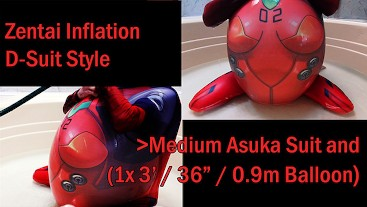 WWM - Asuka Zentai D-Style Inflation