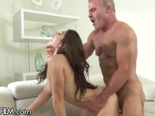 DevilsFilm Hot College Girl Gets Banged Hard By Her BFF's Thirsty DILF