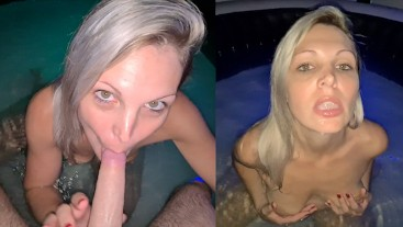 I'm sucking in our hot tub and I loved it so much.