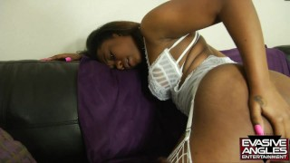 EVASIVE ANGLES Anal Apple Booty 2 Scene 1. Kori Haze Takes A Big Black Cock Till He Cums On Her Face