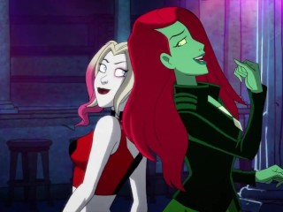 Red head/and harley ivy quinn lesbian
