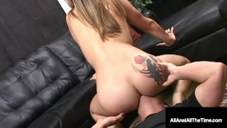 Tongue Fucked Dayna Vendetta Spreads Butthole For Rimming