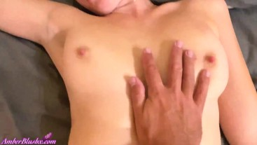 Lover Sensual Masturbate Tight Pussy Sexy Girl after Work