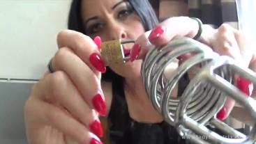The Cock Whisperer: Chastity Training for Parisian Slave - Lady Bellatrix femdom pov