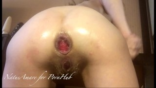 Anal self Destruction of a Kneeled Whore (teaser)