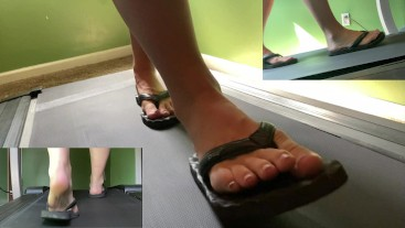 Flips Flops on the Treadmill (Multiple Speeds / Angles)