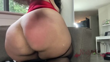Spanking My Ass Red JOI Spank Countdown