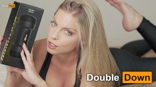 PORNHUB TOY REVIEW – DOUBLE DOWN