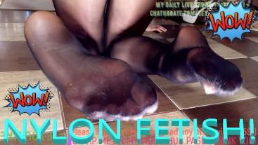 EPIC & NOW - NYLON feet NYLON ass NYLON tits - THE BEST ESPANOL MODEL OF PORNHUB CON COM, PORHUB,POV