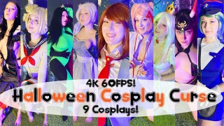 Halloween Cosplay Curse 2020 Pornhub Contest OmankoVivi Mr Hankeys Toys