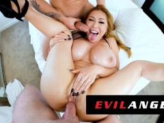 Evilangel - Stacked Chinese Cougar Kianna Dior's Messy Threesome