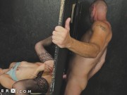 GenderX - Alisia Rae Can't Resist Glory Hole Surprise Dick