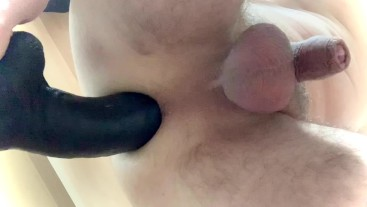 Prostate milking session with BBC