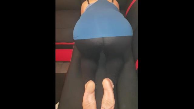 Latina Yoga Pants Fucked