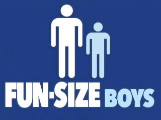 FunSizeBoys – Hung giant makes tiny bottom boy cum fucking bareback