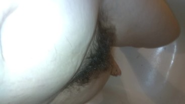 Pee Piss TOYS! HAIRY Bathroom Fetish Slut PEES STANDING Uses Go Girl Boy Potty Training Urinal