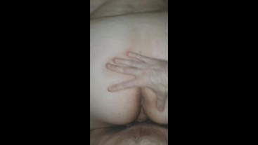 Step Sister Gets Her Pussy Fucked Rough Doggy Style - HUGE ASS POV