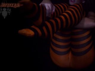 Catgirl/dark worship pantyhose joi