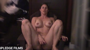 Milf tells dirty story about pool boys on vaction and then gets rough anal.