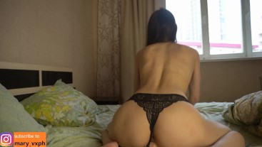 In the morning I like to get orgasm (part 2)