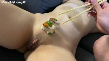 All you can eat Pussy & Sushi (AYCE)