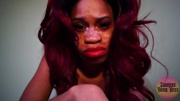 Goddess Rosie Reed Ebony Humiliatrix Femdom POV Loser Humiliation Real Fucking Loser
