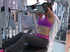 Film porno romanesc Stefan Steel cu Rosalina Love la Fitness