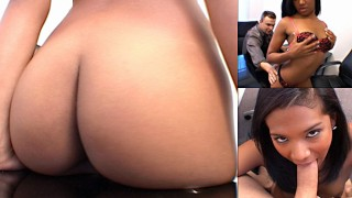 Super Cute Latina Emy Reyes Types 60 Words A Minute & Sucks Cock At