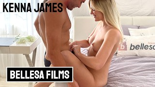 Bellesa Kenna James and Nathan Bronson in playful and passionately intense sextape