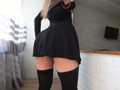 Student sex after school day. Cum in mouth