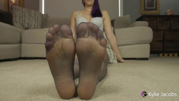 Baltico Colored Pantyhose Feet - Kylie Jacobsx