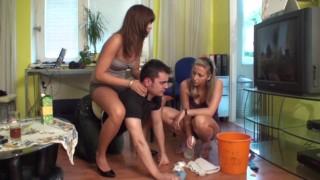 balkan girls humiliate richie in the ground