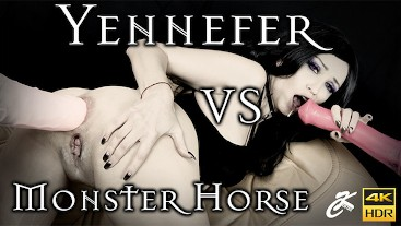 Yennefer vs Monster Horsedildo
