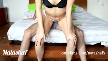 Sexy girl fart on your dick, cum on my farts