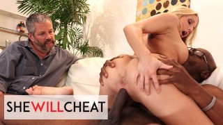 She Will Cheat Hot Blonde Milf Christie Stevens Gets Fucked By Her Hot Black Cock