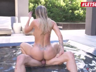 DoeProjects – Jessa Rhodes Big Tits American Slut Hardcore Pussy Fuck By The Pool