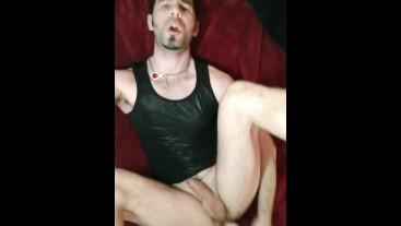 Dirty talk stepdaddy stepson roleplay, Zak Magnus takes a dildo , Sleazylucky