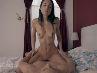 Fucking and Unprotected Creampie with Pornhub's Vibrating Cock Ring