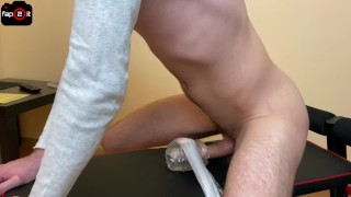 Horny Guy Fucking Fleshlight While Moaning And Dirty Talking Until Intense Orgasm - 4K