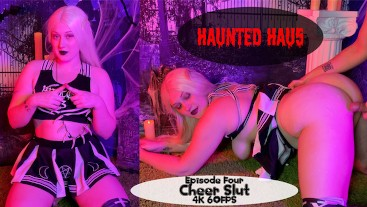 Haunted Hau5 Episode 4 Cheer Slut FULL VID 4K OmankoVivi Halloween