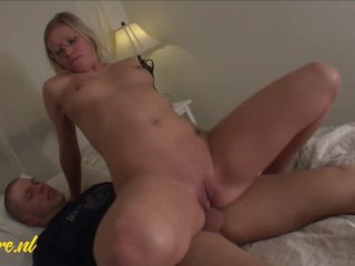 Naughty Blonde Mom Wants a Big Hard Cock Up her Ass