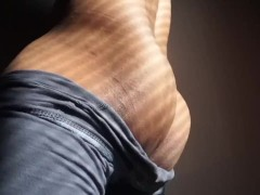 MALE ORGASM LOUD MOANING: watch my ass grind and thrust while I fuck my fleshlight