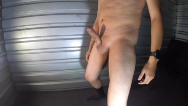 Whipping my dick (cumshot)