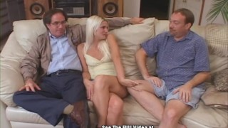Cuckold Hubby Watches Wife Gang Fucked by Dirty D