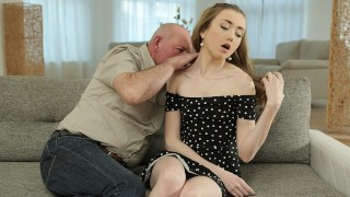 DADDY4K Bored cutie gets seduced by her boyfriends old father