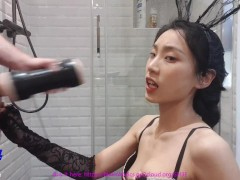 June Liu ?? / Spicygum - Asian Teen Attempting New Playthings / Part 1 / Pornhub Playthings Unboxing!